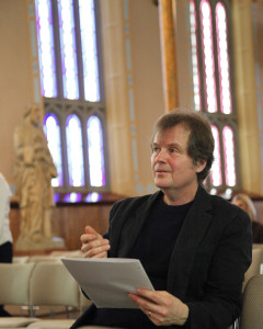 Mel Braun, conductor and curator of nortendluvsongs.